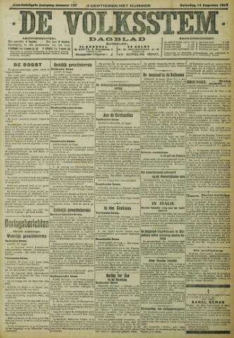 De Volksstem 1915-08-14