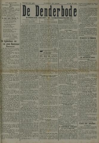 De Denderbode 1918-07-21