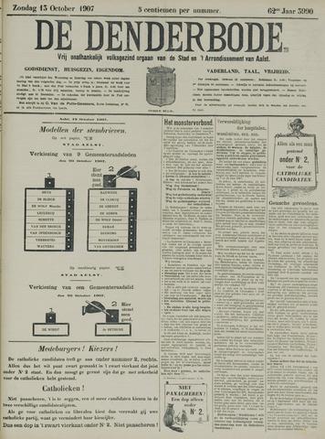 De Denderbode 1907-10-13