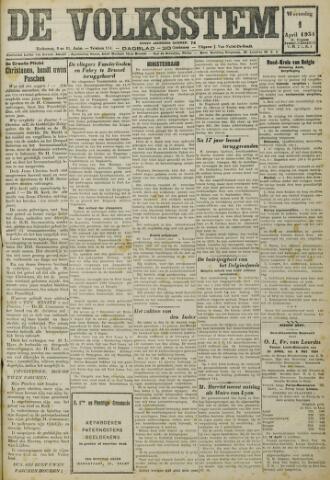 De Volksstem 1931-04-01