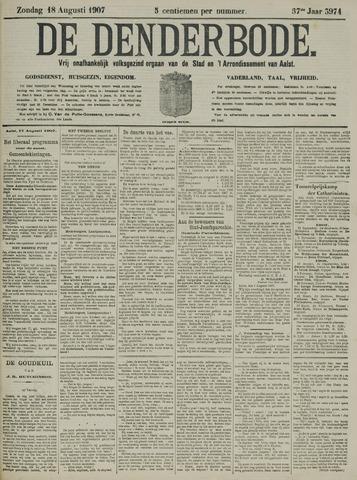 De Denderbode 1907-08-18
