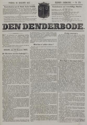 De Denderbode 1857-08-16
