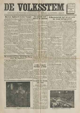 De Volksstem 1938-11-21