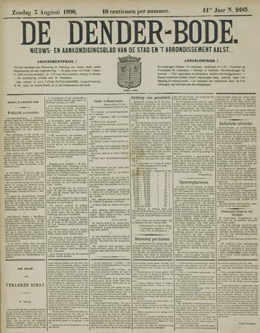 De Denderbode 1890-08-03