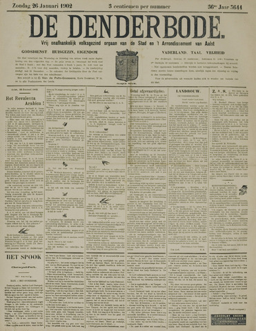 De Denderbode 1902-01-26