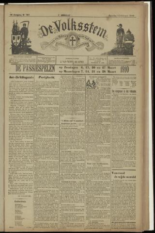 De Volksstem 1910-02-12