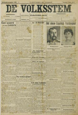 De Volksstem 1910-05-15