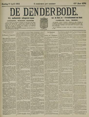 De Denderbode 1911-04-09