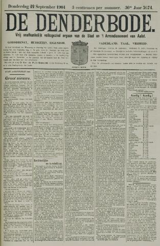 De Denderbode 1904-09-22