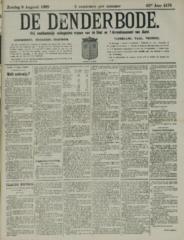 De Denderbode 1909-08-08