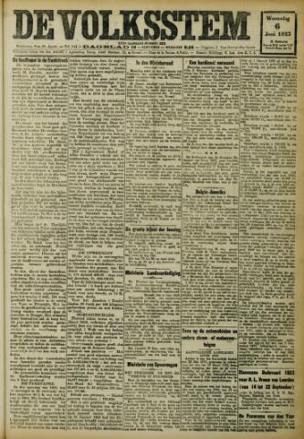 De Volksstem 1923-06-06