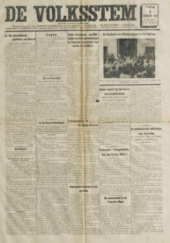De Volksstem 1938-02-04