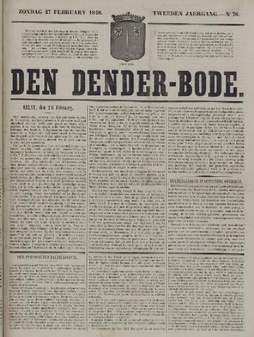 De Denderbode 1848-02-27