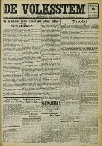 De Volksstem 1932-11-16