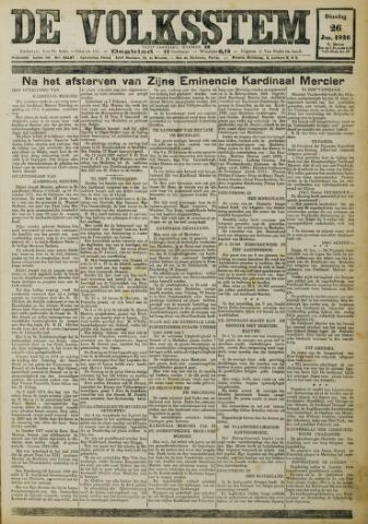 De Volksstem 1926-01-26