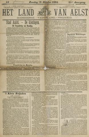 Het Land van Aelst 1884-10-19