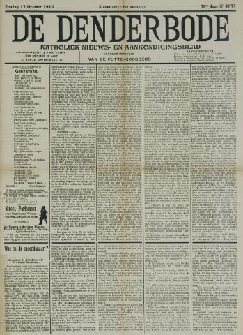 De Denderbode 1915-10-17