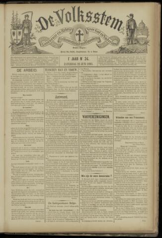 De Volksstem 1895-06-22