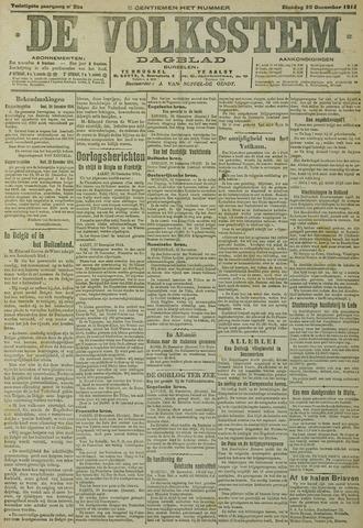 De Volksstem 1914-12-29