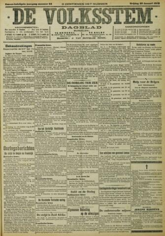 De Volksstem 1915-01-29