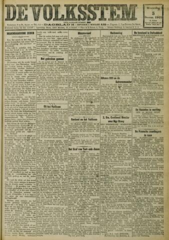De Volksstem 1923-12-05