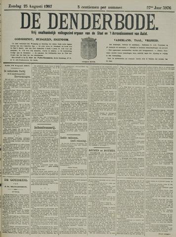 De Denderbode 1907-08-25