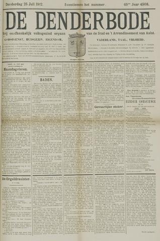 De Denderbode 1912-07-25