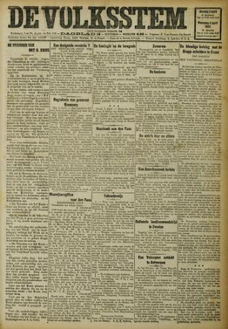 De Volksstem 1923-04-03