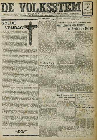 De Volksstem 1926-04-02