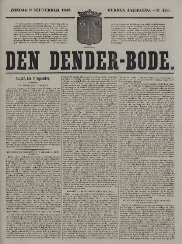 De Denderbode 1849-09-09