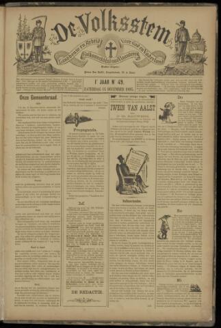 De Volksstem 1895-12-14
