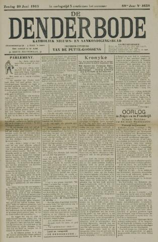 De Denderbode 1915-06-20