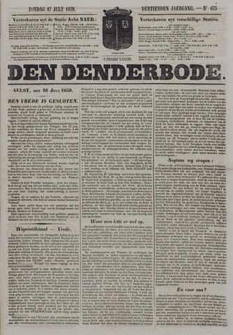 De Denderbode 1859-07-17
