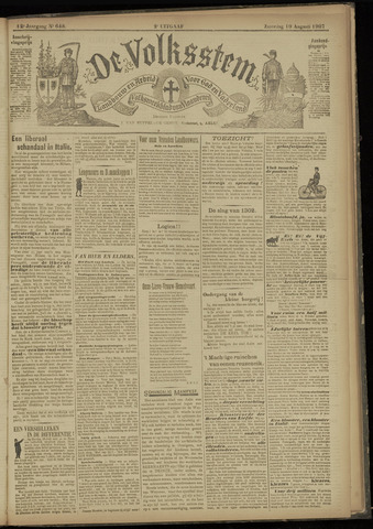 De Volksstem 1907-08-10