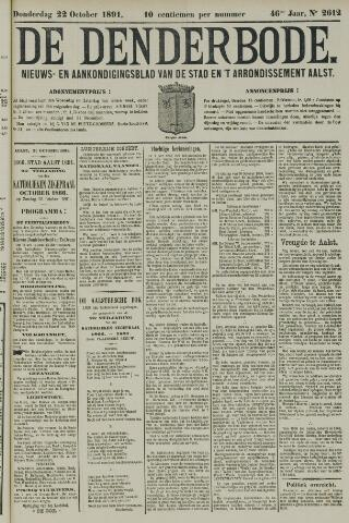 De Denderbode 1891-10-22