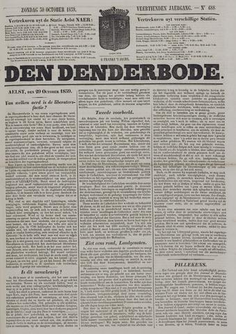 De Denderbode 1859-10-30
