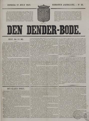 De Denderbode 1847-07-11