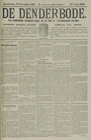 De Denderbode 1906-11-15