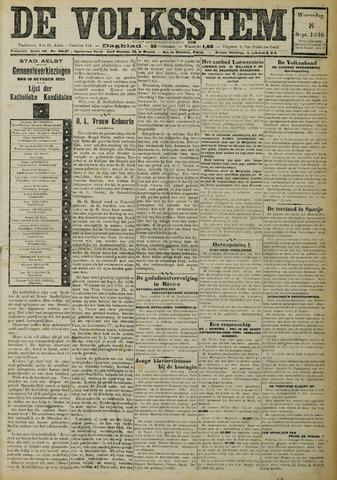 De Volksstem 1926-09-08