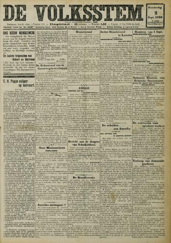 De Volksstem 1926-09-02