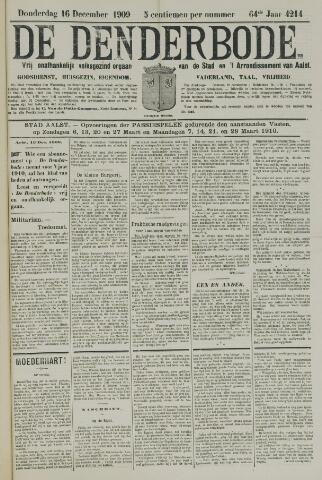 De Denderbode 1909-12-16