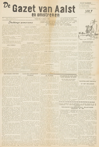 De Gazet van Aalst 1961