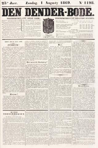 De Denderbode 1869-08-01