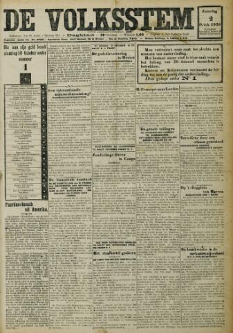 De Volksstem 1926-10-02