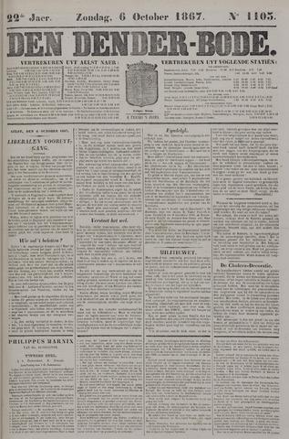De Denderbode 1867-10-06