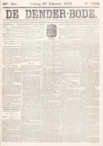 De Denderbode 1876-02-27