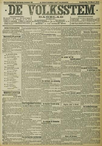 De Volksstem 1915-03-18