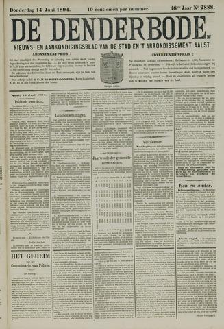 De Denderbode 1894-06-14