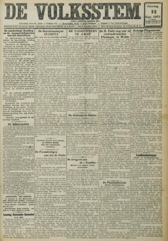 De Volksstem 1931-09-12