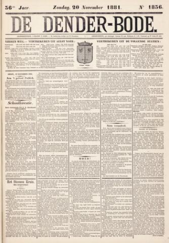 De Denderbode 1881-11-20